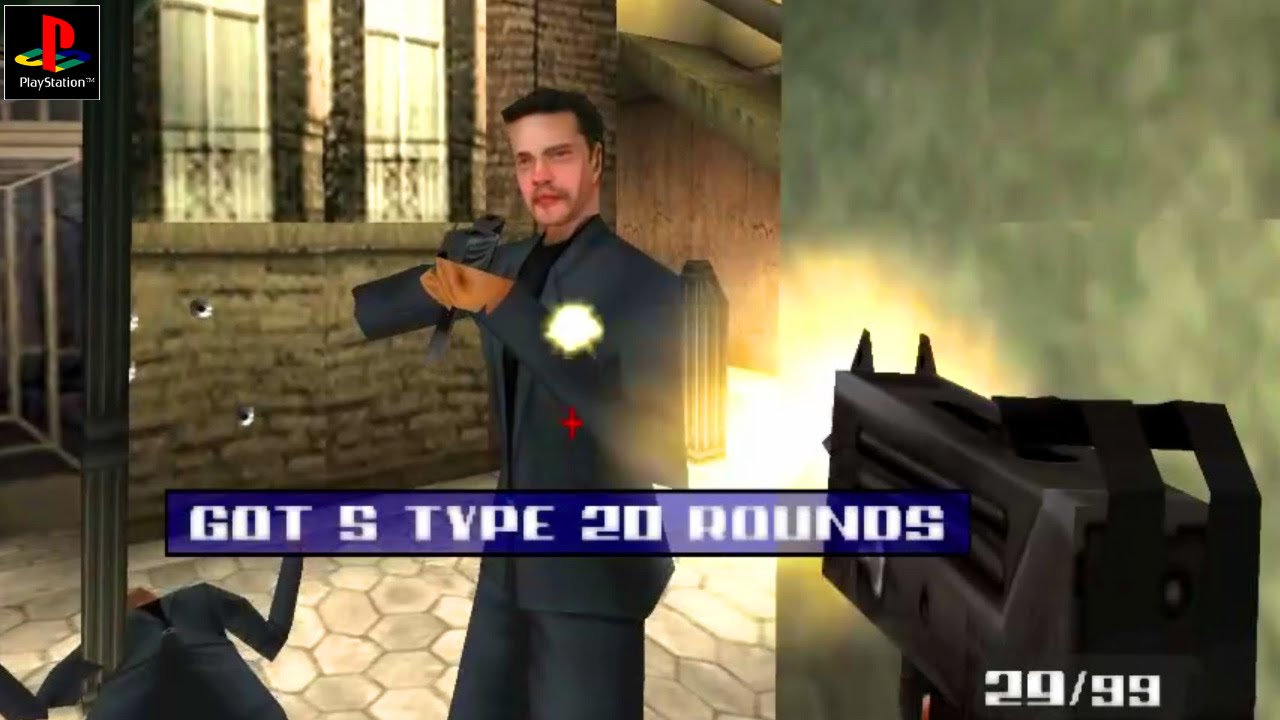 007 The World Is Not Enough Gameplay Psx Ps1 Ps One Hd
