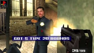 007: The World is not Enough - Gameplay PSX / PS1 / PS One / HD 720P (Epsxe)