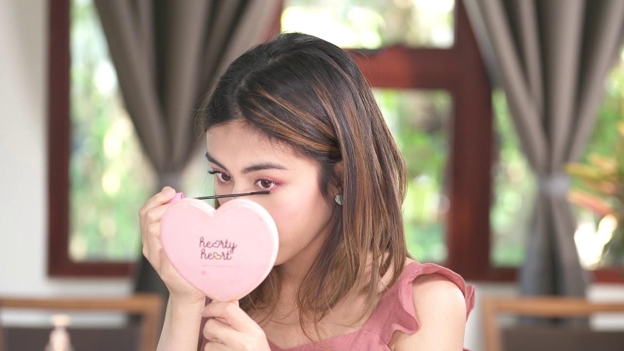 Hearty Heart Makeup Tutorial : VDay Make up look by Yoon Wadi Lwin Moe