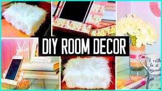 DIY ROOM DECOR! Recycling projects | Cheap & cute ideas! Organization