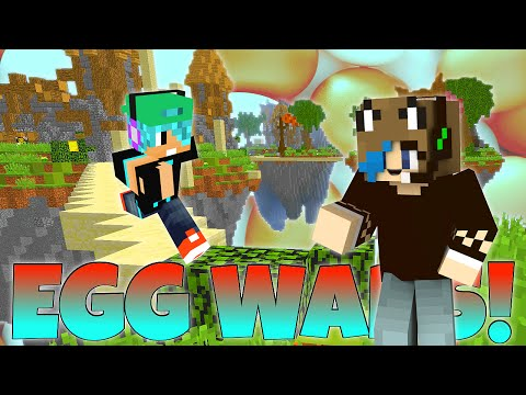 MINECRAFT CUBE CRAFT EGG WARS | GAMER CHAD | What Time Is It?
