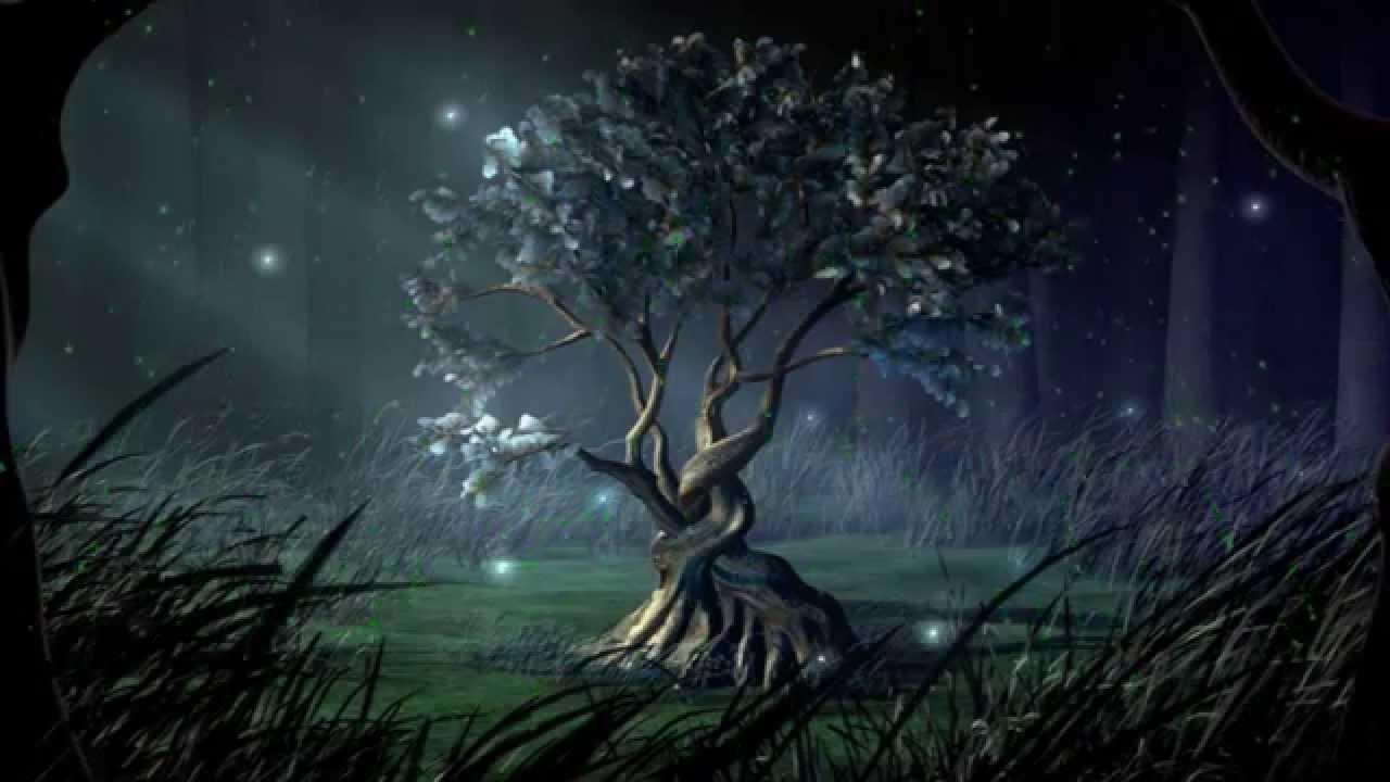 картинки волшебные деревья