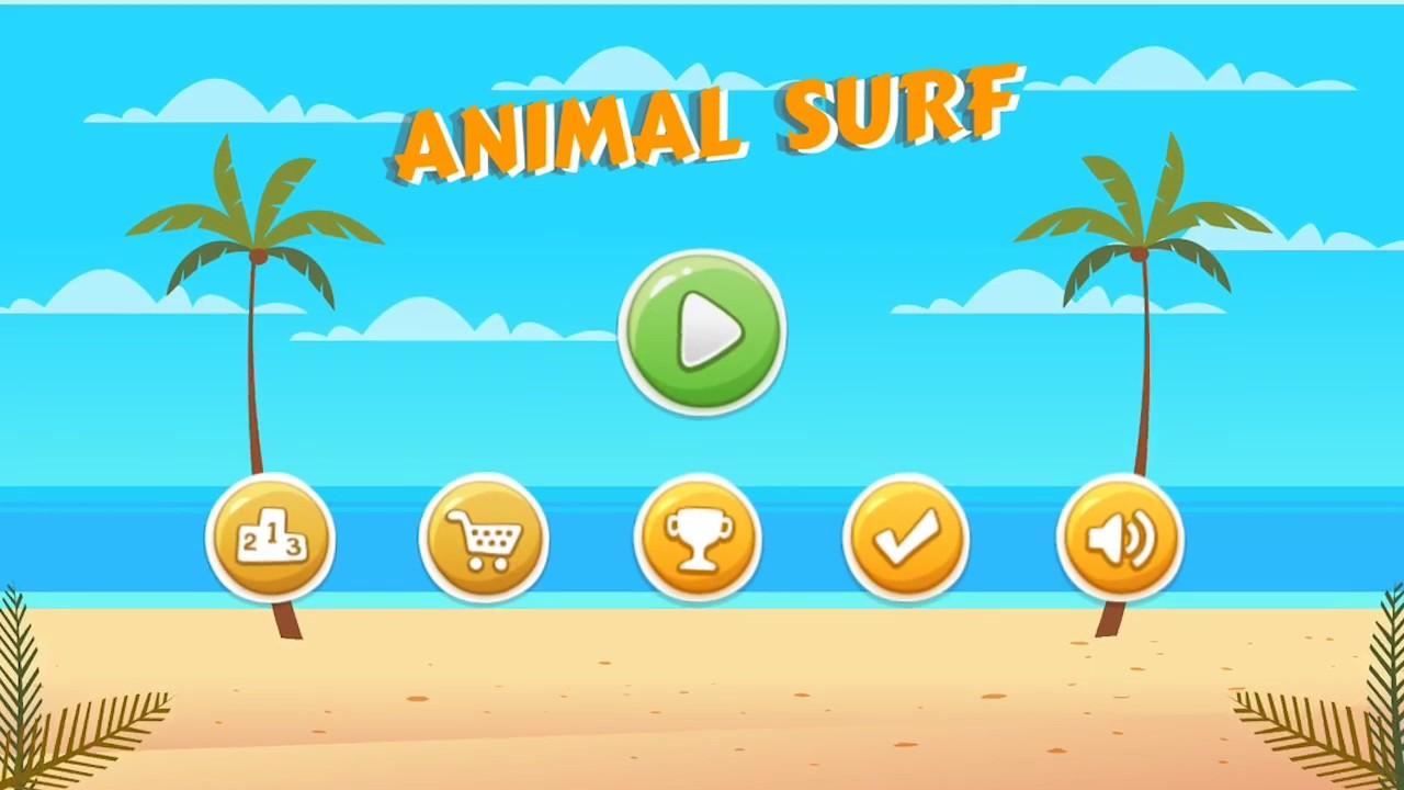 Animal Surf Gameplay