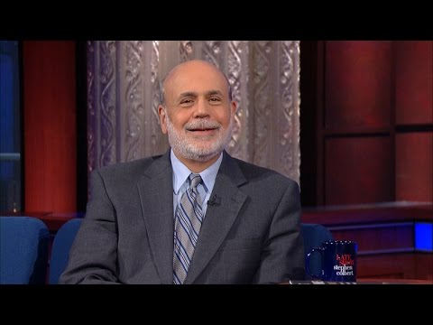 Ben Bernanke Is As Happy As He Gets