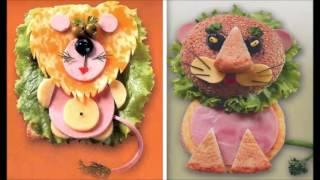 Красивые бутерброды для детей