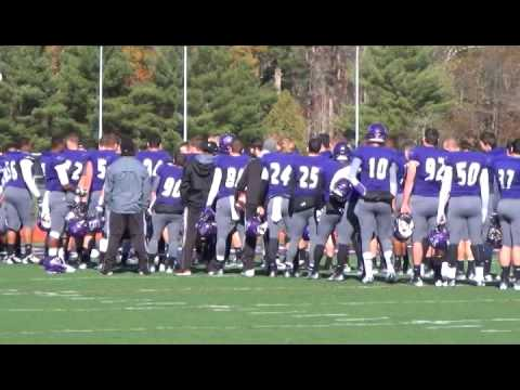 Stonehill College Football Senior Day 2014