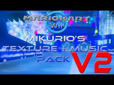 [MKWii] Mikurio's Texture & Custom Music Pack v2