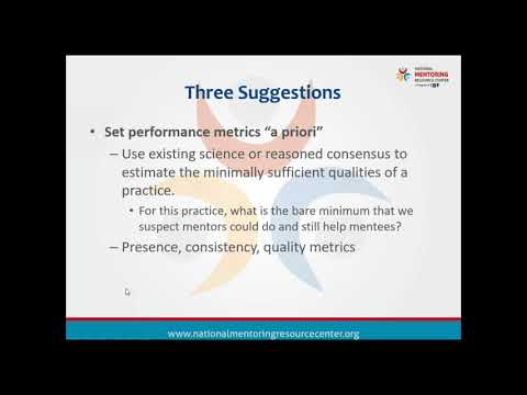 NMRC Special Webinar #2: Key Methodological Considerations for Understanding Mentoring Relationship