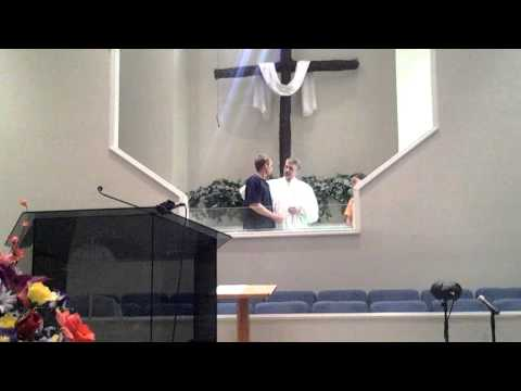 Double baptism