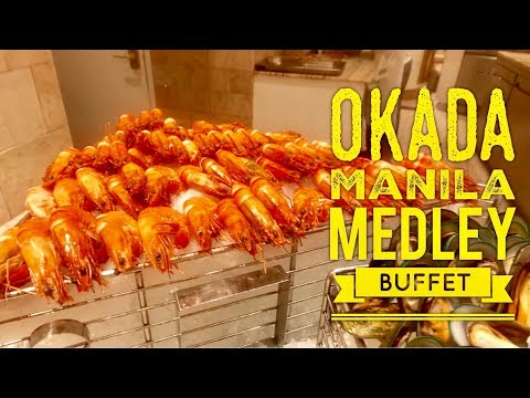Okada Manila: Medley Buffet Walking Tour (Sunday Dinner)