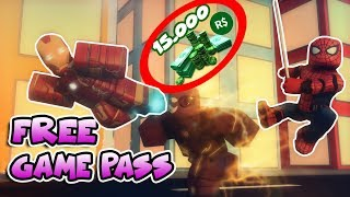 😱15,000 ROBUX SPENT GAME PASS😱 /Roblox Super Hero Tycoon / Roblox English