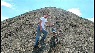 INSANE PIT BIKE HILL CLIMBING !!