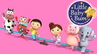 See Saw Margery Daw | Nursery Rhymes | By LittleBabyBum