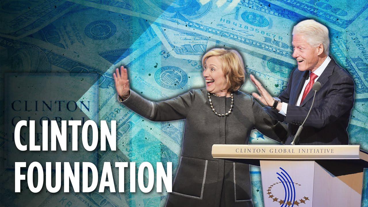 The Clinton Foundation...