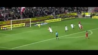 Hamit Altintop First Goal With Real Madrid Vs Sevilla (6-2) - 2012 - HD -