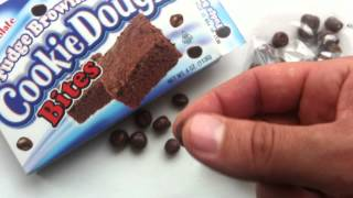 Double Chocolate Fudge Brownie Cookie Dough Bites Review