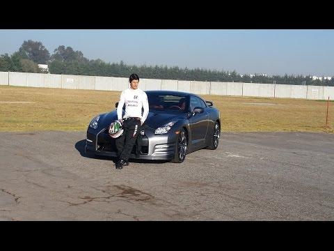 Entrevista con Ricardo Sánchez mientras driftéa un Nissan GTR