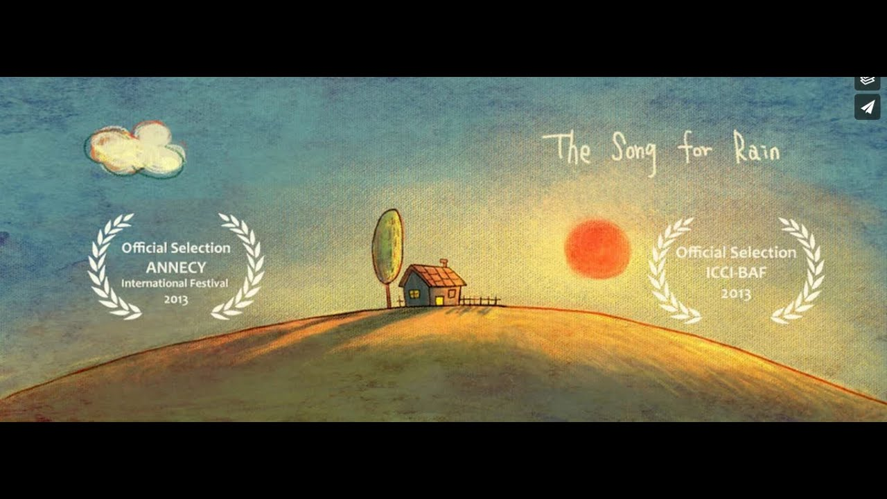 The Song For Rain | Cartoon | 2D Animated Short Film