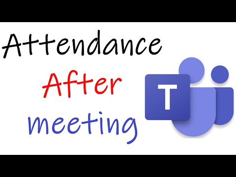 How To Download Attendance in Microsoft Teams After Meeting | How To Add Insights To MS Teams