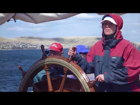 Ep.15 Tall Ship James Craig Bass Straight Passage - Hobart to Sydney