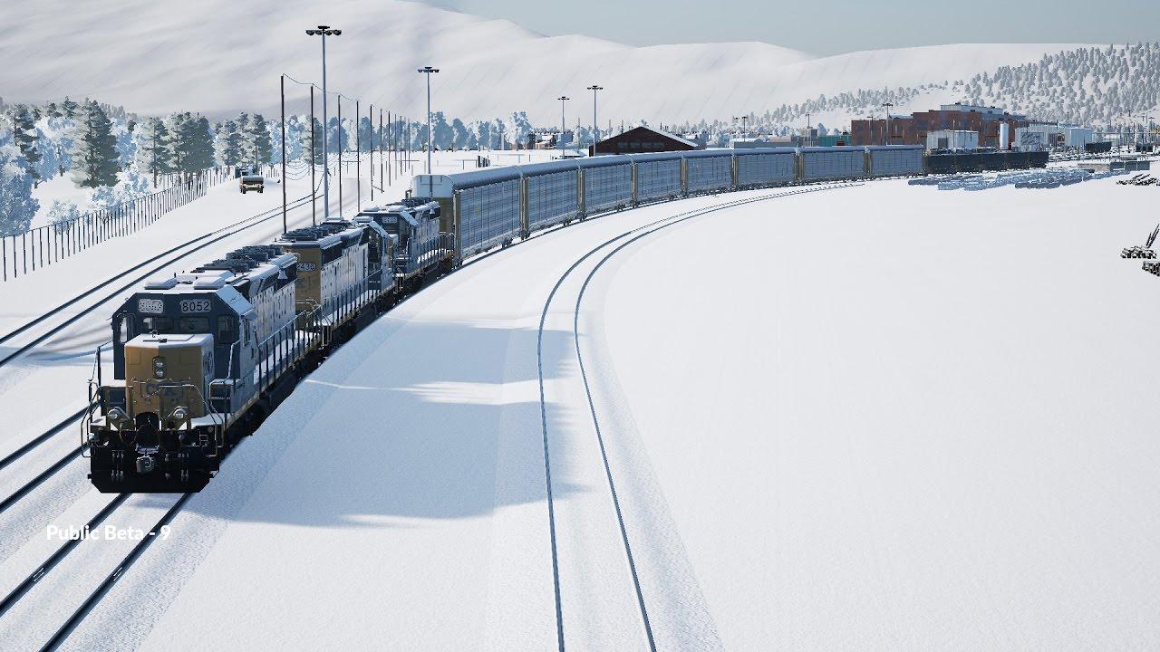Train Sim World: CSX Heavy Haul (Public Beta): Building my Own Train at  Free Roam