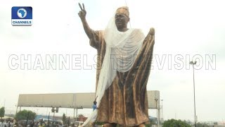 LSG Unveils A Statue In Honour Of Late Chief M.K.O Abiola |Dateline Lagos|