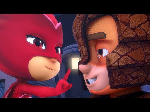 New Characters: Armadylan, Wolfy Kids And More | PJ Masks Official