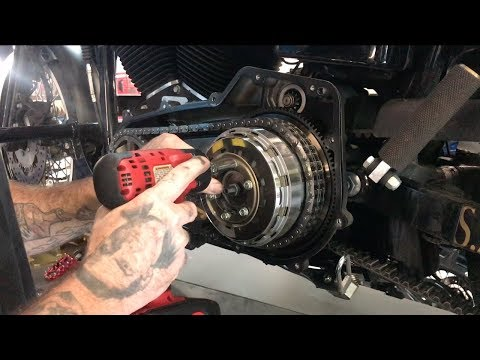 Repeat 78 xlch Sportster, clutch install by josh mills