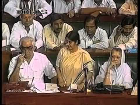 Sushma Swaraj on Secularism
