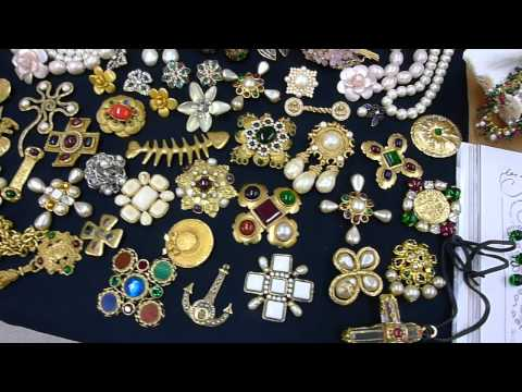 女兒的CHANEL百件時尚珠寶嫁妝, Vintage CHANEL Costume Jewelry