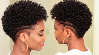 defined moisturized curls on tapered natural hair   misskenk
