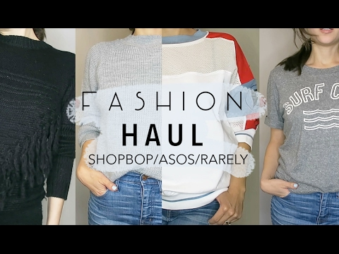 Fashion Haul- Shopbop, ASOS, Rarely | Friedia