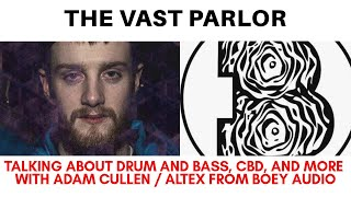 Talking Drum and Bass with Adam Cullen / ALTEX from Boey Audio