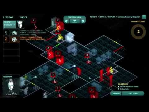 Let's Play Invisible, Inc. - Run #10 - Mission 4 - Drone Swarm