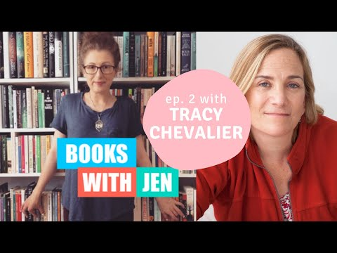 BOOKS WITH JEN: Episode Two | Ft. Tracy Chevalier & Mike Mackmin