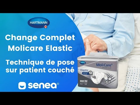 Hartmann - Change Complet Molicare - Pose Sur Patient Couché