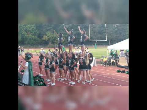 REYNOLDS HIGH SCHOOL CHEER GROUP +FOOTBALL GAME
