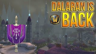 World of Warcraft - Looking to the Past - Dalaran Mod