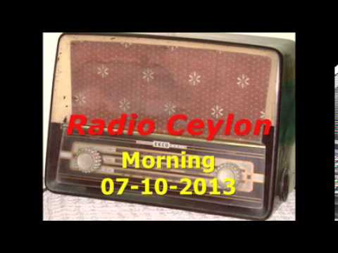 03 Lata Mangeshkar Sad Songs 1~Radio Ceylon 07-10-2013~Morning