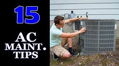 15 Air Conditioner Maintenance Tips
