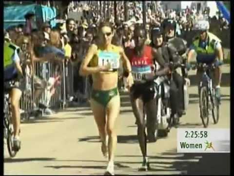 Kerryn McCann - 2006 Commonwealth Games Marathon