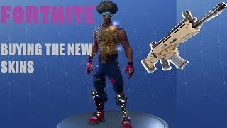 BUYING THE NEW SKINS ~ FORTNITE BATTLE ROYALE - 156 WINS - 4.6K KILLS - LVL 66