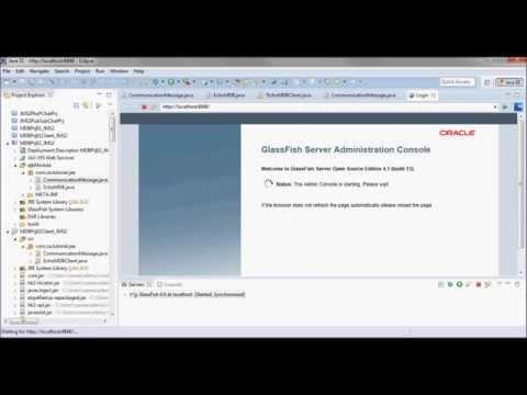 JMS 2.0 Tutorial - TemporaryQueue + GlassFish 4.1 + ObjectMessage + MDB + App Client