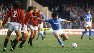 Diego Maradona ● Magical Moments In Napoli ||HD||