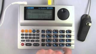 boss audio systems dr 670 dr rhythm midi drum machine