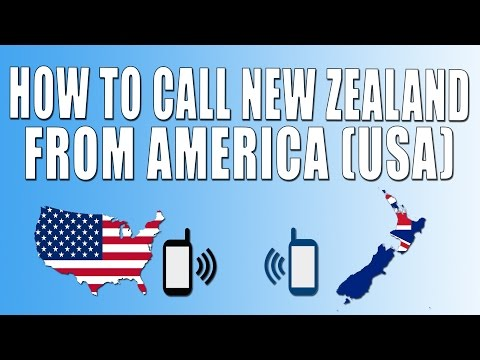 How To Call New Zealand From America (USA)