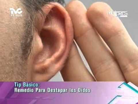 remedio casero para el aire en el oido