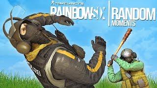 Rainbow Six Siege - Random Moments: #26 (Invisible Operator,Grenade Fails)