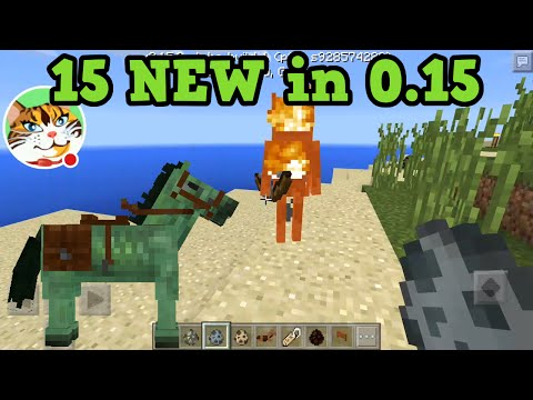 Pocket Edition 15 BEST Features In 0.15.0 - Minecraft PE Update