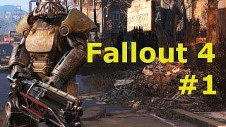 Fallout 4 прохождение 1 начало